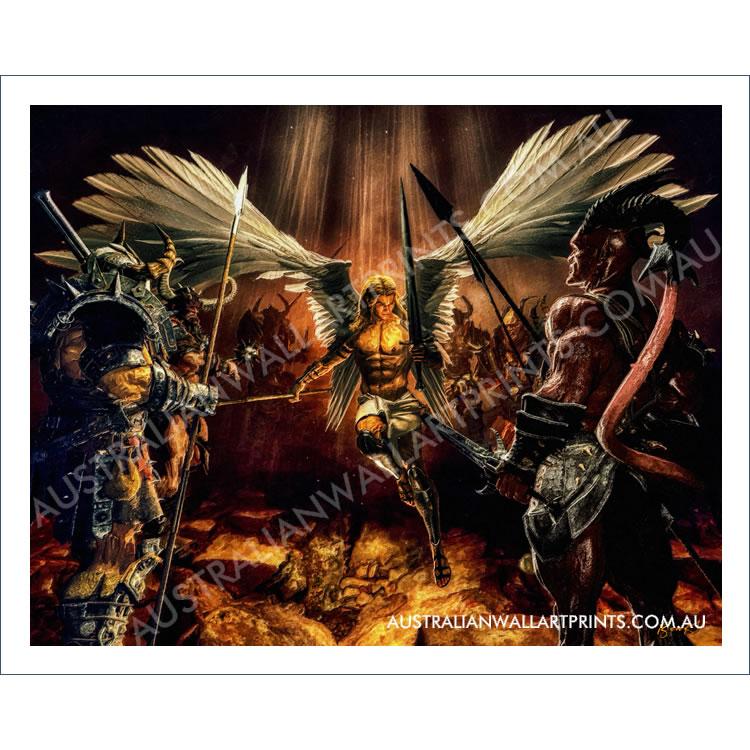 Archangel Michael Wall Art