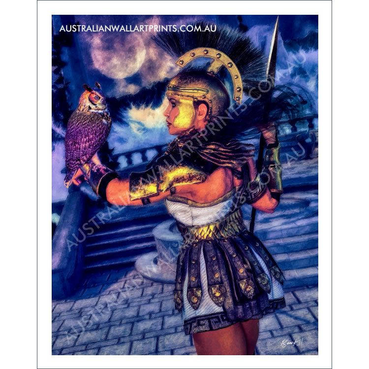 Athena Fantasy Wall Art Print