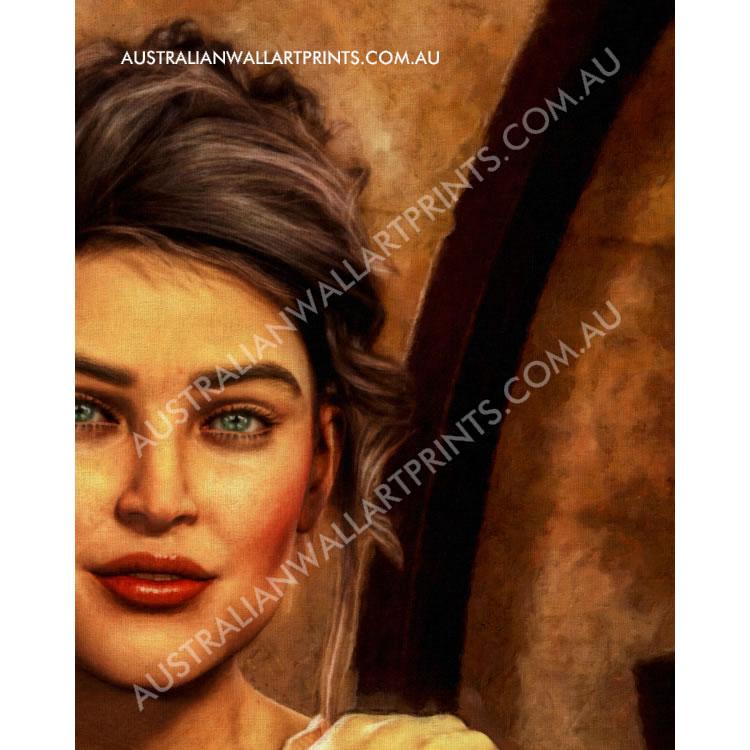 Figure Painting Art Print
