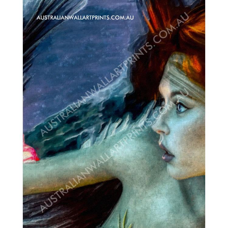 Giclee Art Print Mermaid