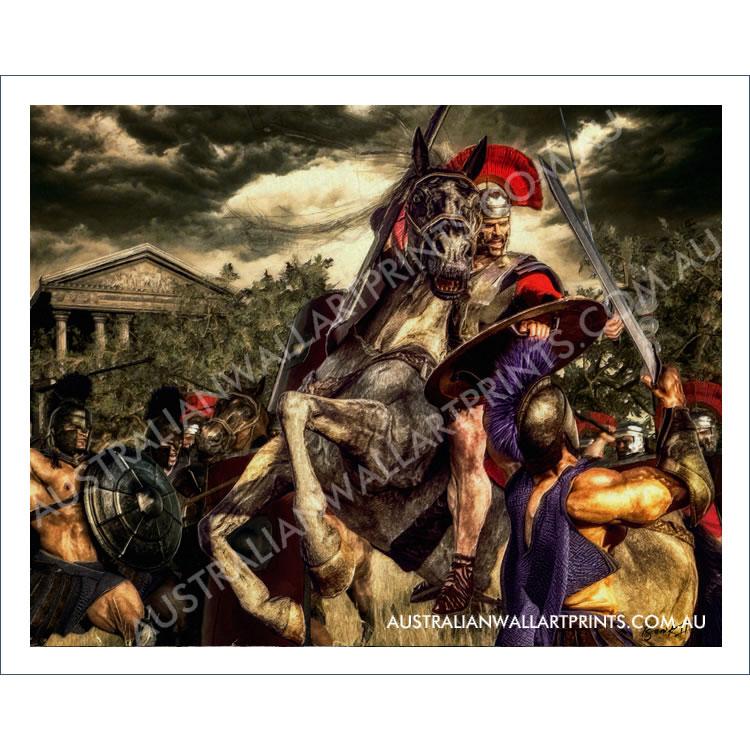 Greek-Roman Battle Wall Art