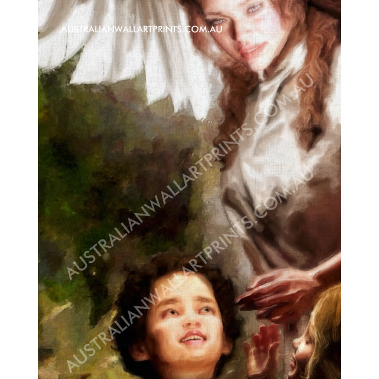Art print guardian angel