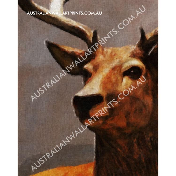 Giclee Printed Wildlife Art Print