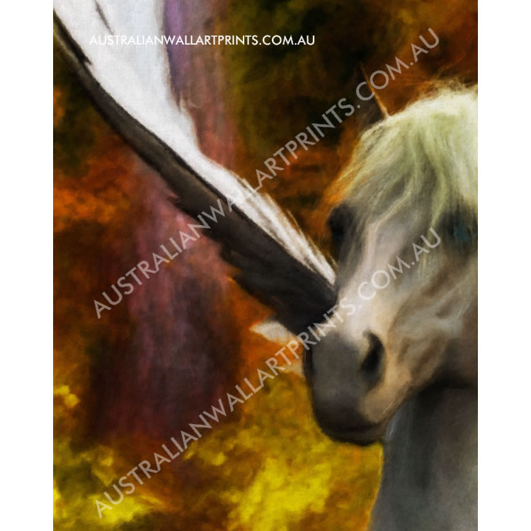 Giclee Wall Art Print Flying Horse