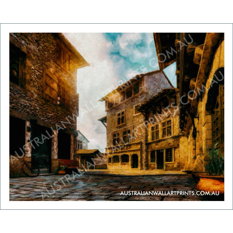 Perouges, France Art Print
