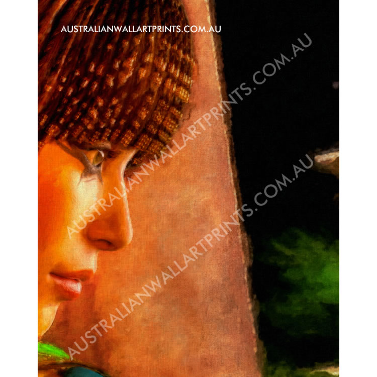 Art Print Egyptian Princess