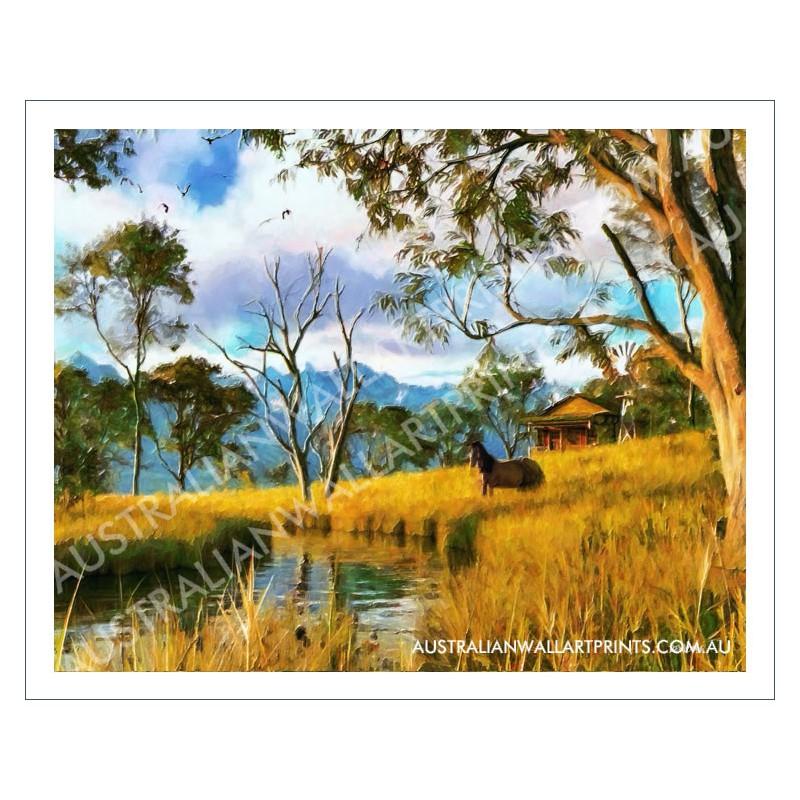Australian Landscape Wall Art