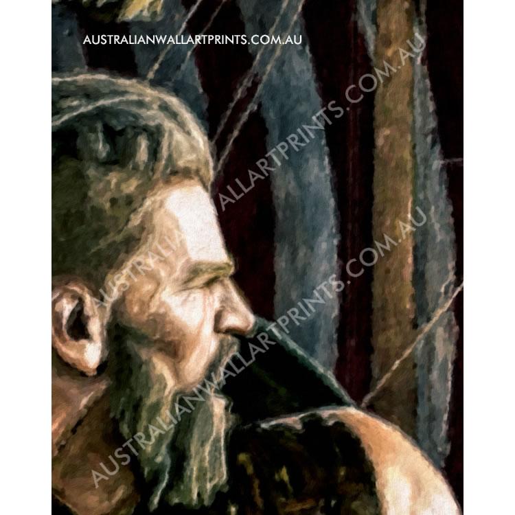 Giclee Art Print Viking Warriors