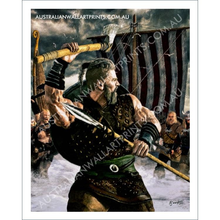 Viking Raiders Wall Art