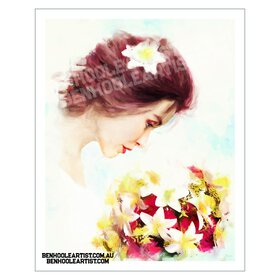 Bridal wall art print