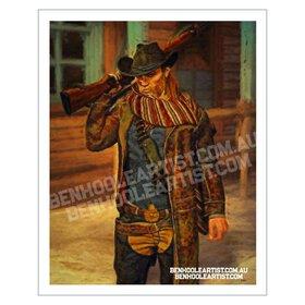 Cowboy Wall Art Print