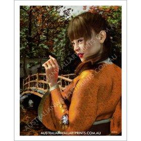 Japanese Beauty Art Print