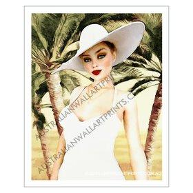 Fashion Model Giclee Art Print