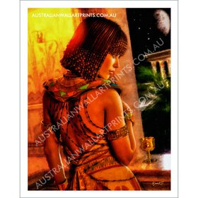 Egyptian Princess Wall Art