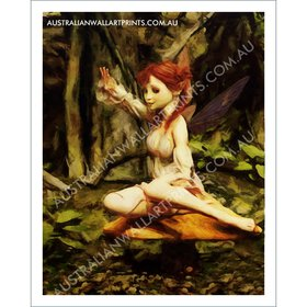 Forest Fairy Art Print