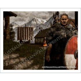 Viking Wall Art Print