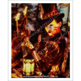 Voodoo Girl Wall Art Print